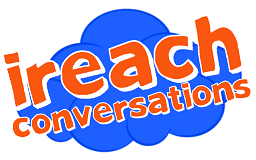 logo for iReach Conversations website